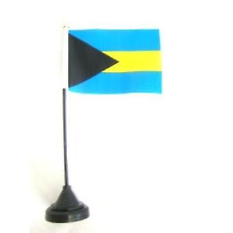Bahamas-Tischfahne mit Base und Stock