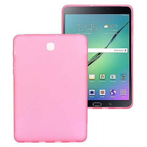 Custodia in silicone rosa per Samsung Galaxy tab S2 8.0 T710 T715N