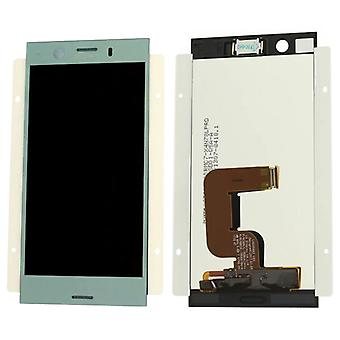 Sony display LCD complete unit for Xperia XZ1 compact G8441 Blau spare parts new