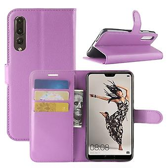 Pocket wallet premium purple for Huawei P20 per protection sleeve case cover pouch new accessories
