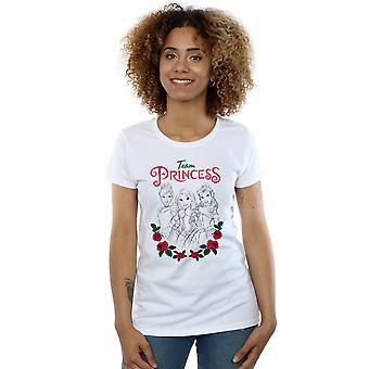 Disney Princess Women's Flower Team T-Shirt