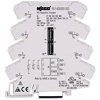 WAGO 857-800 Configurable Temperature Measuring Transducer For Pt-sensors And Resistors