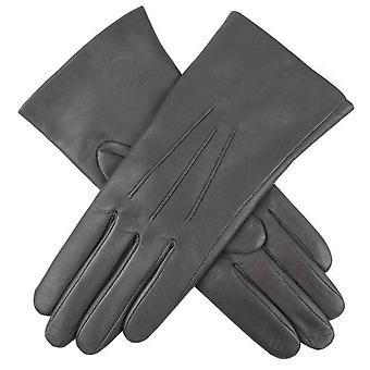 Dents Emma Classic Hairsheep Leather Gloves - Charcoal