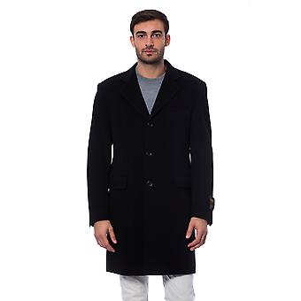 Full-length jacket Black Casorate Trussardi Collection Man