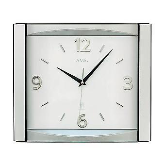 Wall clock radio AMS - 5614