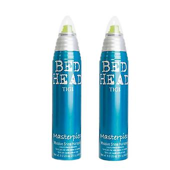 2-pack TIGI Bed Head meesterwerk Hairspray 340ml