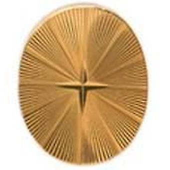 David Van Hagen Starburst Oval slips TAC - guld