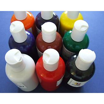 SALE - 150ml Blue Textile Craft Fabric Paint | Fabric Painting Supplies
