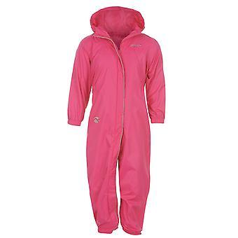 Gelert Kids Childrens Infants Waterproof Babies Shower Suit Hood Zip