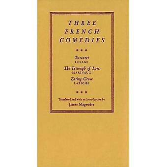 Três franceses comédias - - Turcaret... - o triunfo do amor - e - comer Cro