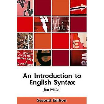 Uma introdução à sintaxe inglesa (2ª edição revisada) por Jim Miller