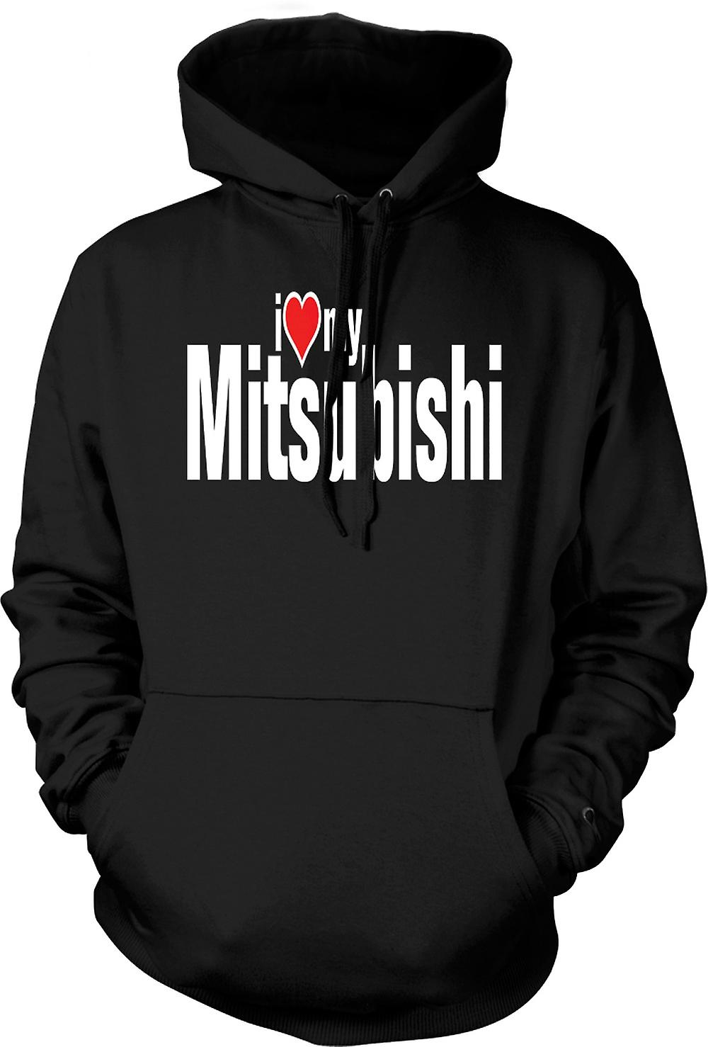 Kids Hoodie - I Love My Mitsubishi - Car Enthusiast