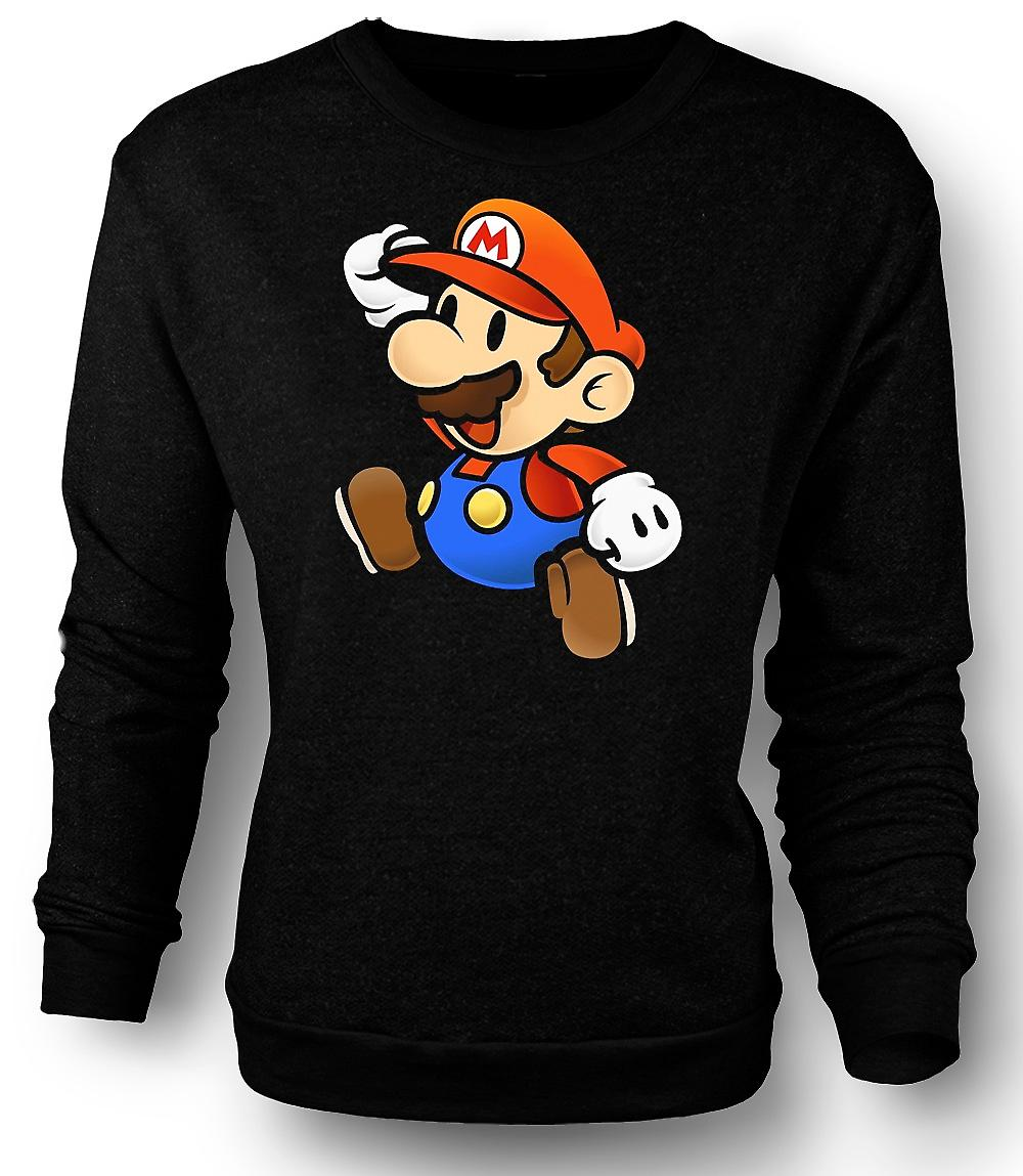 Mens Sweatshirt Super Mario - Spieler