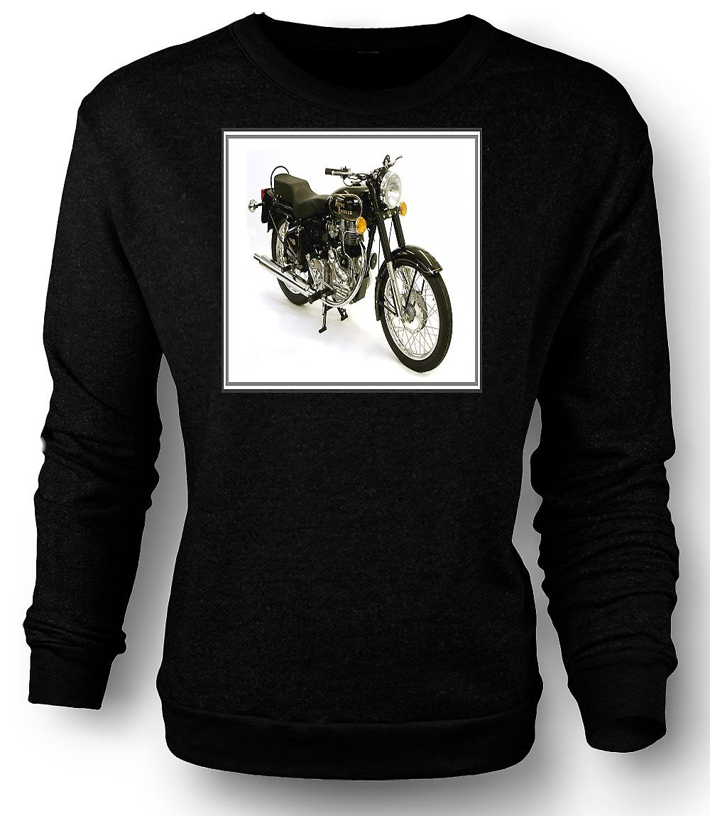 Mens Sweatshirt Royal Enfield Bullet - moto d'epoca