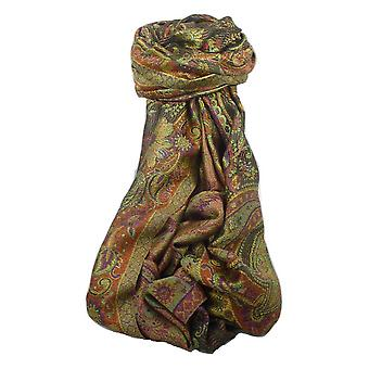 Jamawar Premium Silk stal mönster 3242 av Pashmina & Silk