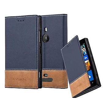 Cadorabo case for Nokia Lumia 925 - mobile case with stand function and card cover from an artificial leather suits - case cover sleeve case bag book
