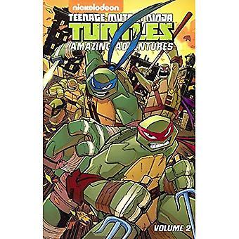 Teenage Mutant Ninja Turtles Amazing Adventures, Volume 2