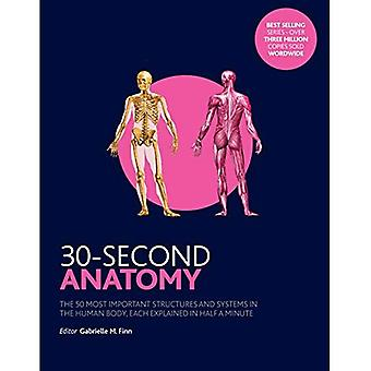 30-Second Anatomy: The 50 Most Important Structures and Systems in the Human Body, Each Explained in Half a Minute - 30 Second