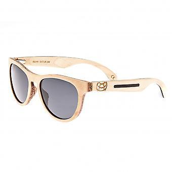 Earth Wood Del Carmen Polarized Sunglasses - Bamboo/Black