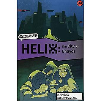 Helix: The City of Chayos (Graphic Reluctant Reader)
