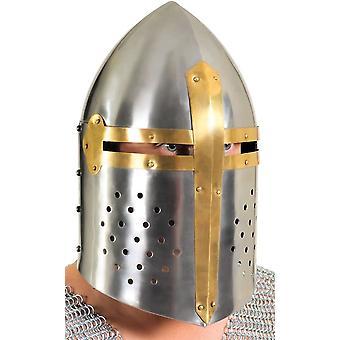 Helm Full Face Metall Rüstung