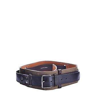 Dries Van Noten Beige Suede Belt