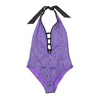 Missoni Purple Nylon One-piece Suit