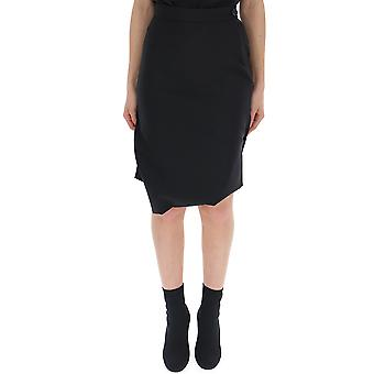 Vivienne Westwood Black Wool Skirt