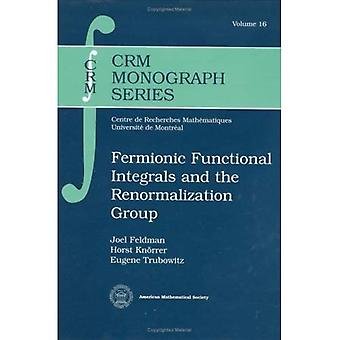 Fermionic Functional Integrals and the Renormalization Group