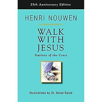 Marcher avec Jésus: chemin de croix