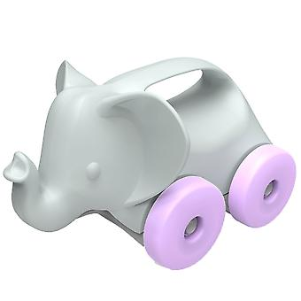 Green Toys Elephant on Wheels Push Along Toy 100% Recycled BPA Free