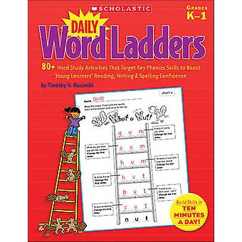Daily Word Ladders - Grades K-1 - 80+ Word Study Activities That Targe