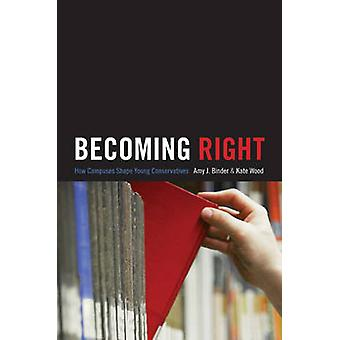 Becoming Right - How Campuses Shape Young Conservatives by Amy J. Bind
