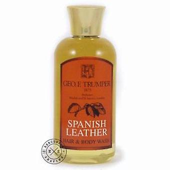 Geo F Trumper Spanish Leather Hair & Body Wash 200ml