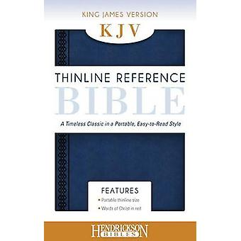 KJV Thinline Reference Bible Midnight Blue - A Timeless Classic in a P