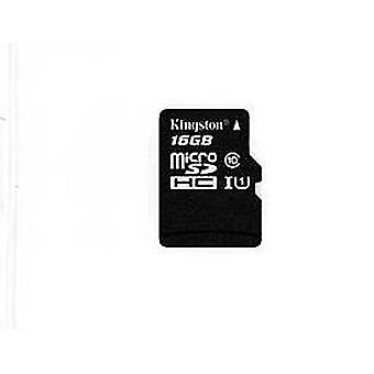 Kingston c10 micro sdhc uhs - 16g, black
