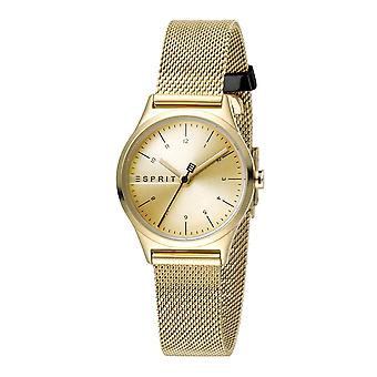 Esprit ES1L052M0065 Essential Mini Gold Mesh Women's Watch