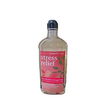 Bad & lichaam werkt aromatherapie stress relief energie eucalyptus Tangerine Foam Wash 10 fl oz/295 ml