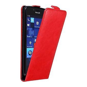 Cadorabo Case for Nokia Lumia 950 Case Cover - Phone Case in Flip Design with Magnetic Closure - Case Cover Case Case Case Case Book Folding Style