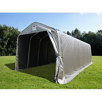 Namiot garażowy PRO Telthal 3,77x9,7x3,18m PE, Szary
