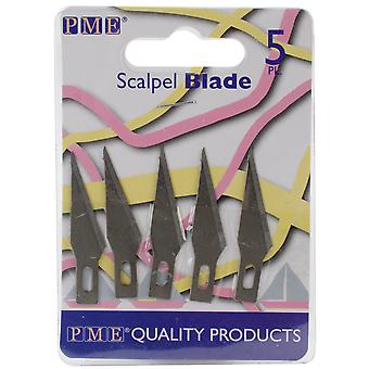 Spare Blades For Craft Knife Scalpel 5 Pkg Pme7s