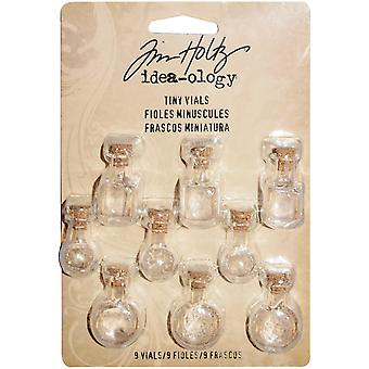 Idea-Ology Tiny Vials 9/Pkg-Assorted Shapes, 1