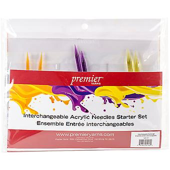 Acrylic Needles Interchangeable Starter Knitting Set-  1031-01