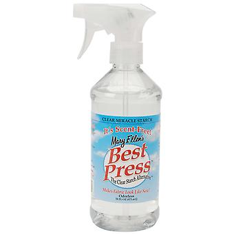 Mary Ellen's Best Press Clear Starch Alternative 16 Ounces Scent Free 600Bp 34