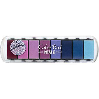 Colorbox Fluid Chalk Paintbox Option Inkpad 8 Colors Blossom Pastel 71 503