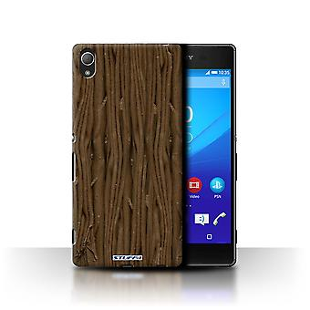 STUFF4 Case/Cover voor Sony Xperia Z4/Flake/chocolade