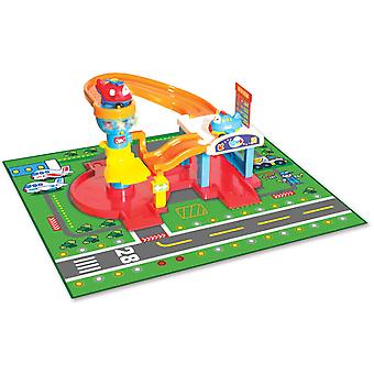 WinFun Airport With 2 Aircraft (Toys , Vehicles And Tracks , Parking And Circuits)