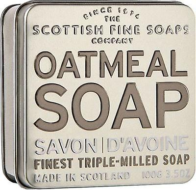 Scottish Fine Soaps Exfoliating Oatmeal Soap TIn
