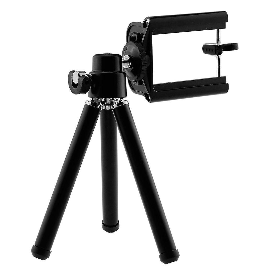 ONX3 (Tripod Phone Holder + Wireless Remote Shutter) Asus Zenfone Max ZC550KL Pack of Adjustable Mini 360 Rotatable Tripod Stand with Phone Clip Holder and Wireless Bluetooth Camera Shutter Remote Control Compatible with all IOS and Android Devices with Bluetooth