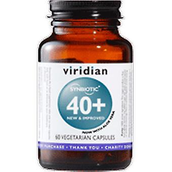 Viridian 40 + Synbiotic 60 Vegetable Capsules